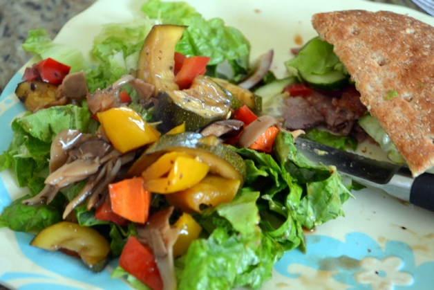 Roasted Marinated Vegetable Salad