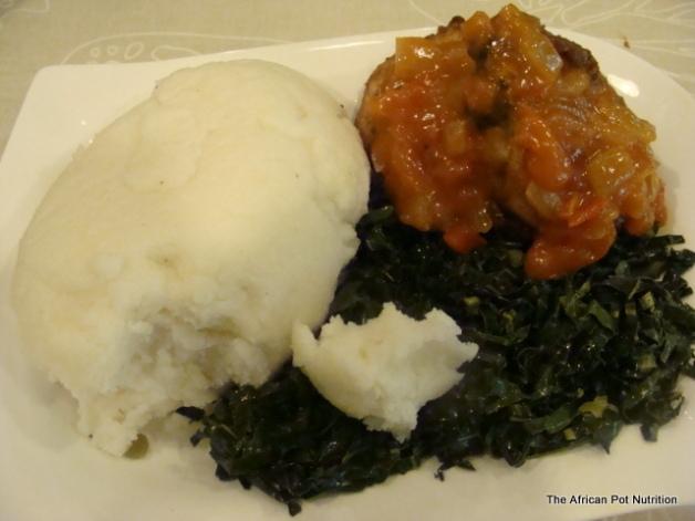 Maize Meal Sadza/Ugali/Pap/Nshima/Isitshwala